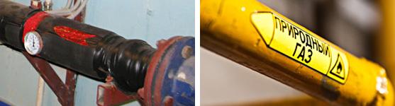 Сравнение способов маркировки трубопроводов