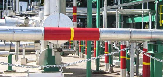 Опознавательная окраска трубопроводов